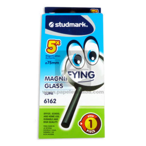Lupa Magnifyng Glass 6162 Studmark 75mm Negro