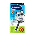 Lupa  Magnifyng  Glass 6163 Studmark 90mm Negro