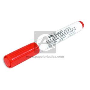 marcador Borrable Whiteboard Marker Winner 154 faber castell Rojo