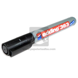 Recargable marcador Borrable Board Marker 363 Edding Negro