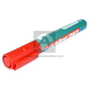 Recargable marcador Borrable Board Marker 363 Edding Rojo