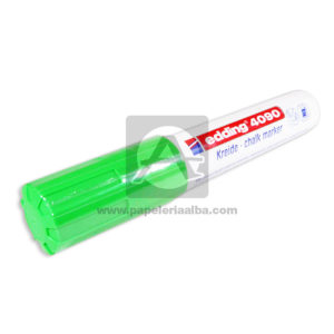 Recargable marcador Borrable Kreide Clack Marker Edding verde Grande