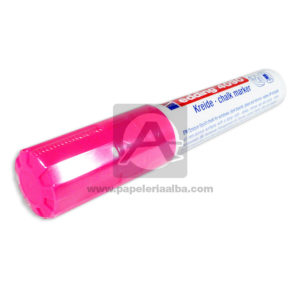 Recargable marcador Borrable Kreide Clack Marker 4090 Edding Fucsia Grande