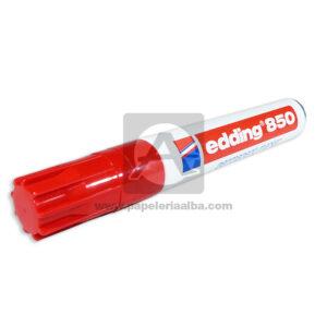marcador Permanente 850 Edding Rojo
