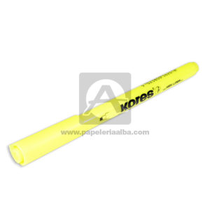 Marcador Resaltador High Liner kores amarillo