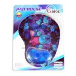Pad Mouse   Ergonómico cuadros   Gároz Azul unisex