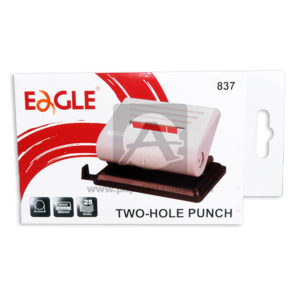 perforadora Dos servicios a presión Tow Hole Punch 837 Eagle piel Grande
