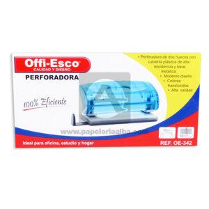 perforadora Eficiente OE-342 Offi- Esco Azul Grande
