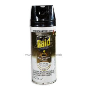 insecticida Aerosol Raid Max Mata Cucarachas y Arañas sin Olor Johnson 199 Gramos Grande