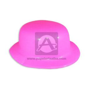 Sombrero Hora Loca Neón Fival Fucsia Grande femenino Plástico