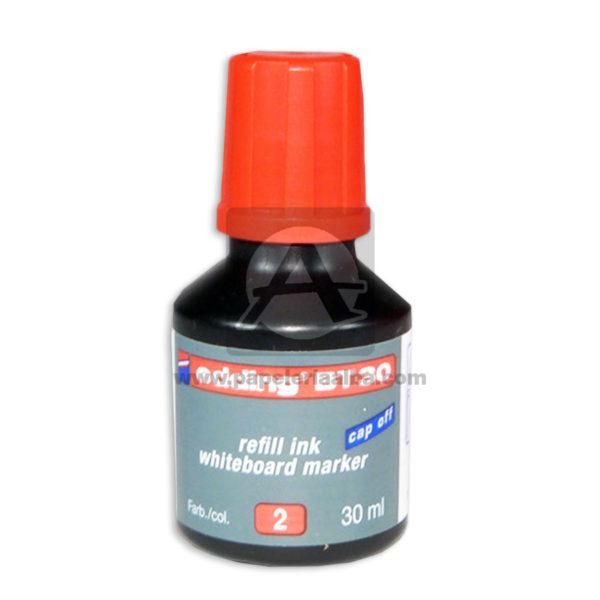 tinta Para Marcador Borrable Refill ink whiteboard marker BT-20 Edding Rojo 30ml