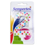 vela  Torta Numero 2 Polka Candles  Sempertex Blanca Multicolor unisex Carta