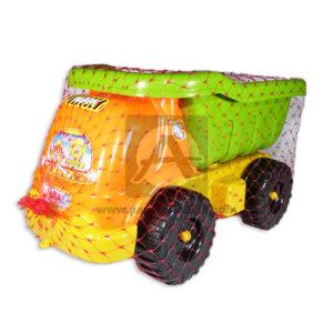 juego didáctico Volqueta Infantil Plásticos Royal naranja verde Niño +3 Años Mediana +Herramientas