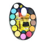 acuarela  Paleta Artística  Watercolor Studmark Surtido 12 unidades +Pincel