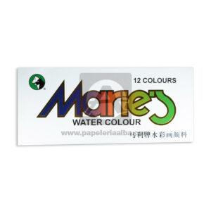 acuarela Marie's Watercolor Geoz Surtido 12 unidades Caja