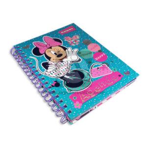 universitaria agenda Planeador Disney Minnie Mouse Primavera femenino Argolladas Cuadriculada Grande