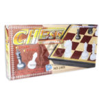 juego de mesa juego de azar  Ajedrez Magnético  Chess Riddle No. 2408 Plásticos Asociados Grande beige Negro