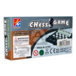 juego de mesa juego de azar  Ajedrez Cheess Game Con imán  Longas Pequeño Caja blanco Negro