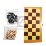 juego de mesa juego de azar  Ajedrez Cheess Jumbo  Cuantias Grande beige Negro Madera