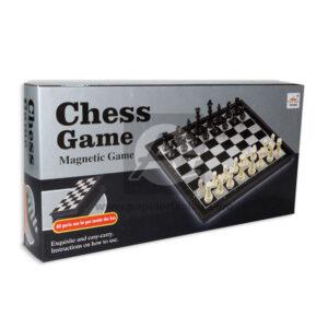 juego de mesa juego de azar Ajedrez Cheess game Magnético Plásticos Asociados Grande blanco Negro