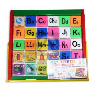 juego didáctico Alfabeto Pre-Escolar Creaplast +3 Años Multicolor Grande unisex