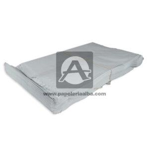 bolsa de papel Plana Paquete #111 Converpel blanco 100 Unidades Mediana