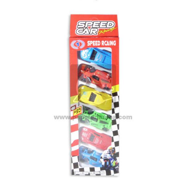 juego didáctico Set de Carros Colección Speed Card Caprichos Surtido Niño Pequeño 6 unidades
