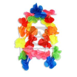 collar Hawallano Flores Cuantias Surtido unisex