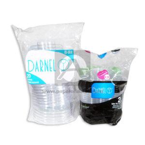 copa Veneciana Fresh Darnel Cuantias Transparente 8 Onzas 20 unidades