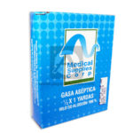 gasa  Aséptica Medical Supplies corp Disprocliniks Caja 1/2 x 1 Yarda