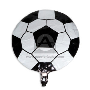 Globo Balón Fival Blanca Negro Grande
