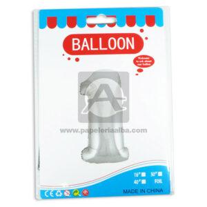 Bomba Globo Numero 1 Balloon AH Royal Dorado Metalizado 16'' Pequeño