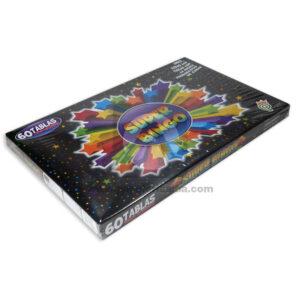 juego didáctico Juego Super Bingo Proyecciones Plásticas Caja 2-4 Jugadores + 4 Años 60 Unidades