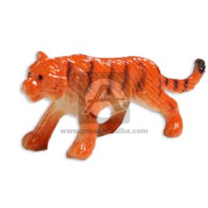 Maqueta Animal Tigre Innovar naranja Pequeño Plástico