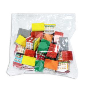 Maqueta Casa Casa Mini Pack Innovar Pequeña Cartón 20 unidades