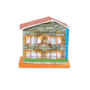 Maqueta Casa Casa Mini Innovar Pequeña Cartón