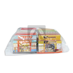 Maqueta Construcción Edificación Locales Comerciales Pack Innovar Grande Cartón 6 unidades