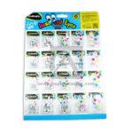 Ojos  Móviles Surtidos de color Todos los Tamaños  Assorted  Eyes  Studmark Surtido 20 unidades