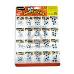 Ojos  Móviles Surtidos Todos los Tamaños Assorted  Eyes  Studmark blanco Negro 20 unidades
