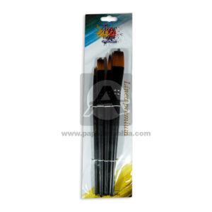 pincel Set Linea Premium AH Royal Surtido Madera Negro 4 unidades