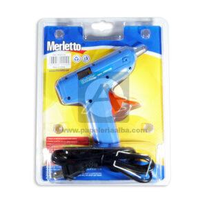 Pistola de Silicona 100 Merletto 12 w Pequeña Azul Pistola de Silicona 100 Merletto 12 w Pequeña Azul