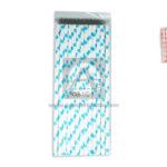 pitillo de papel  Polka  Surtifantasias Azul Caribe blanco 13 Unidades Largo