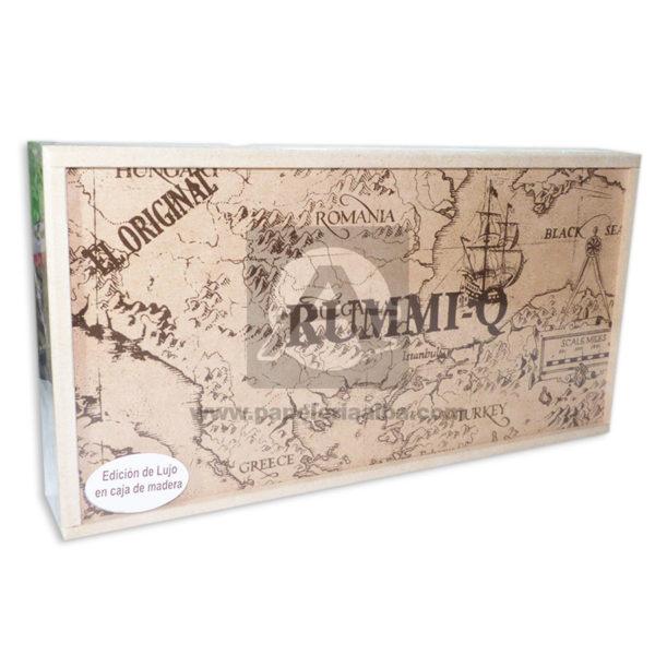 juego de mesa El Original juego en Familia Edición de Lujo Rummi-q Caja 2-4 Jugadores +6 Años Madera