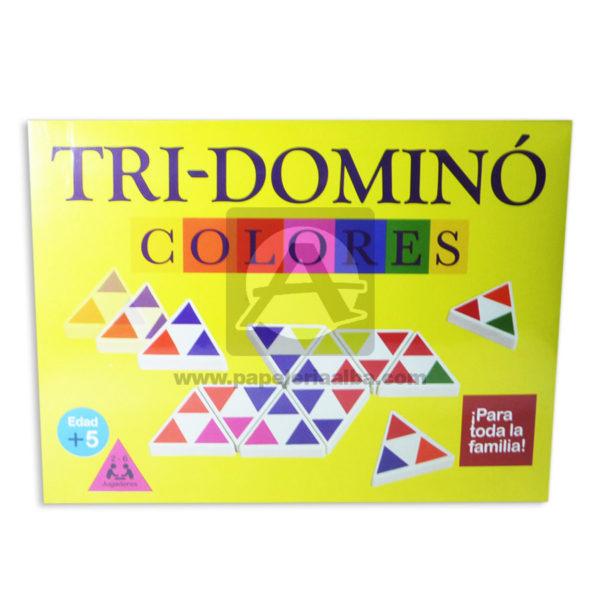 juego de mesa Tri-Domino Para Toda la Familia Plásticos Asociados Caja 2-6 Jugadores +5 Años Surtido