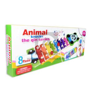 juego didáctico xilófono Animal Knocks The quin Stories Oso Longas Surtido +3 Años 8 Tonos Caja