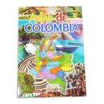 cartilla  Atlas de Colombia Folleto Escolar  Masterkolor plus Oficio