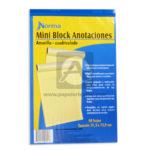 block  Anotaciones  Norma amarillo Carta 50 hojas Rayado
