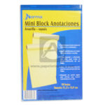 block  Mini de Anotaciones  Norma amarillo Carta 50 hojas Rayado