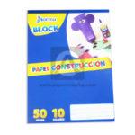 block  Papel Construcción  Norma Surtido Carta 50 hojas