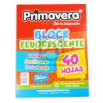block  Fluorescente El original   Primavera Surtido Carta 40 Hojas